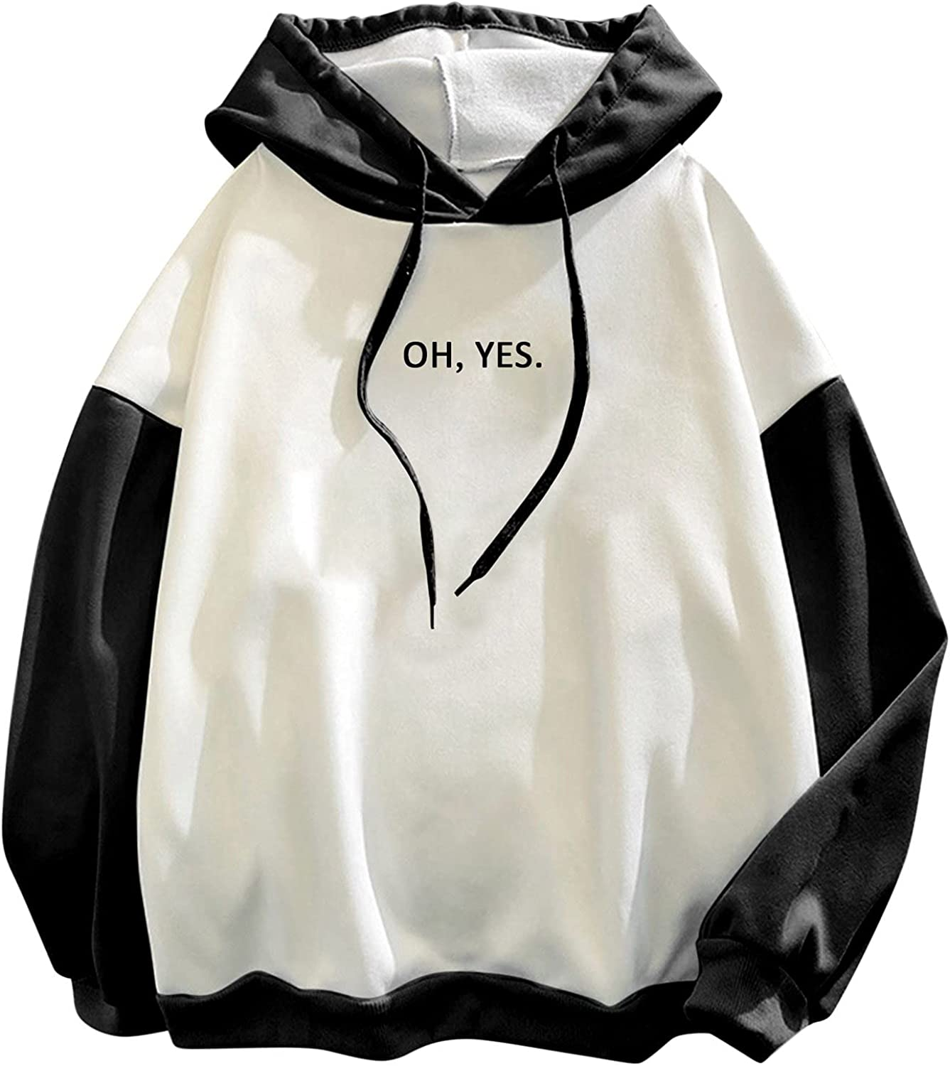Oh List price Yes. Letter Graphic Hoodie for Women Plus S Size Winter Fall Ultra-Cheap Deals