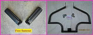 MC4-1 Black+GC Black Custom Engine Guard Highway Crash BAR Sportster Harley 04-14 1200 883 XL Low Iron Super