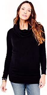 Women's Maternity Cowl Neck Sweater Tunic