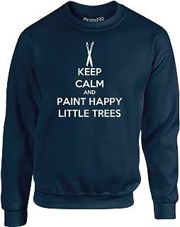 Brand88 - Keep Calm and Paint Happy Little Trees, Kids Sweatshirt