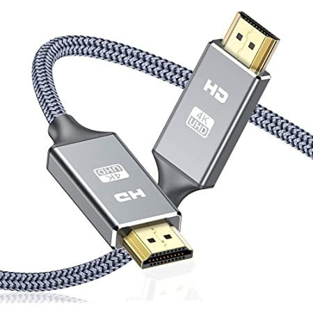Cavo HDMI 4k Ultra HD [3m],Cavo HDMI 2.0 alta velocità Supporta Ethernet 3D,4K e ritorno audio-2160p Full HD 1080p 3D,Blu-Ray,TV, Playstation PS3,PS4, HDTV,Arco,HDCP 2.2,HDR