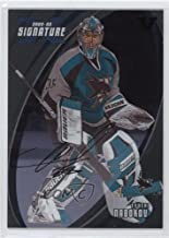 Evgeni Nabokov (Hockey Card) 2002-03 In the Game Be A Player Signature Series - [Base] - Signatures ITG Vault Black [Autographed] #007