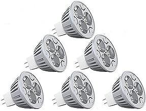 CTKcom MR16 3W LED Bulb(6 Pack)-Warm White 2700K LED Bulbs 35W Halogen Equivalent Ultra Bright 60 Degree Beam Angle Recessed Track Light Landscape 300 Lumens MR16 Spot Lamps 12V