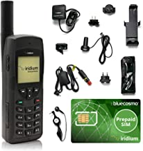 Sponsored Ad - BlueCosmo Iridium 9555 Satellite Phone Bundle - Only Truly Global Satellite Phone - Voice, SMS Text Messagi...
