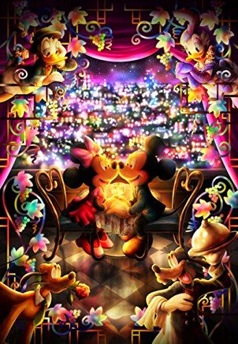 500ピース ジグソーパズル ディズニー とくべつな時間(ミッキー&ミニー) ぎゅっとシリーズ 【ピュアホワイト】 (25x36cm)