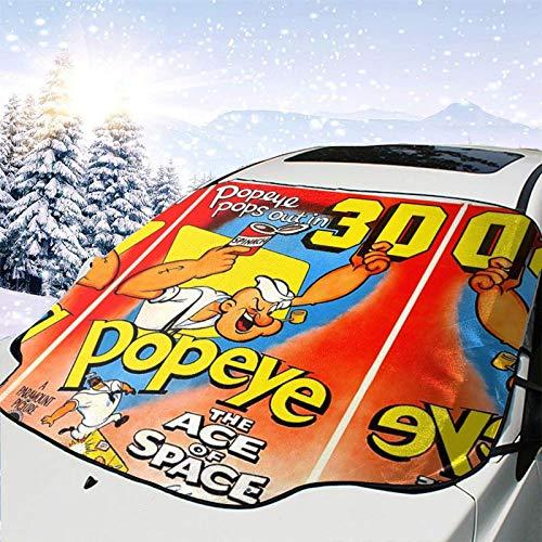 Pop-eye Sail-or Fantasy comics 1938-1940 Oliva lindo niños Pascua Nieve Protección Cubierta reflectante luz solar mercancía lluvia