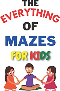 The Everything Giant Book of Mazes: More Than 250 New Puzzles & Solutions for Puzzles Lovers