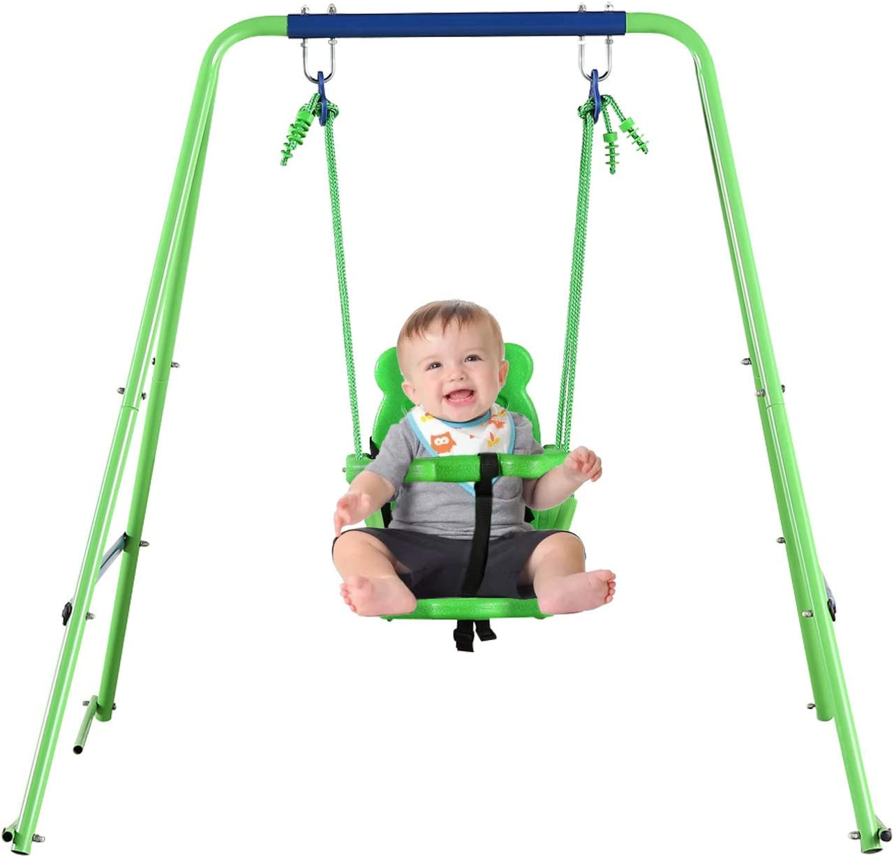 YACOOL Toddler Swing Set Challenge the lowest price of Japan Outdoor with Free Shipping Cheap Bargain Gift Belt Metal Seat
