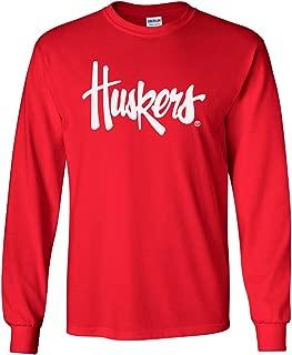 CornBorn Choose Your Design - Script Huskers Long Sleeve T-Shirt