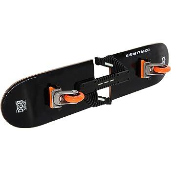 DUB STACK(ダブスタック) スプラインスケートボード DSB-13 トリックの幅を大きく広げる次世代型スケートボード コンプリートセット 【高品質カナディアンメープルデッキ】【ABEC7ベアリング採用】前後輪可動キャスターによりスイッチスタンスが可能