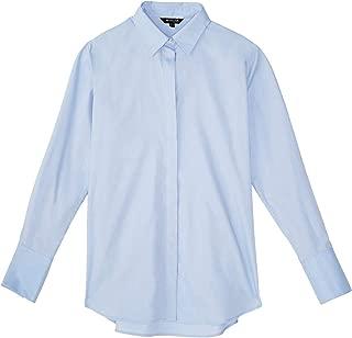 Massimo Dutti Women Plain poplin Shirt 5143/627