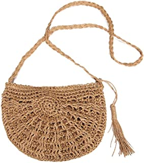 bolso playa paja,bolsos playa,Puro bolso de hombro tejido tejido a mano,Nuevo estilo retro bolso tejido trenzado bolso de ...