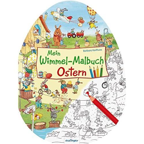 Mein Wimmel-Malbuch – Ostern