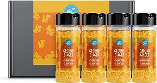 Marca Amazon - Happy Belly - Jengibre en polvo, 4x28g