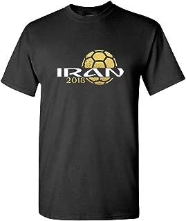Pam GM Iran Mens Soccer T-Shirt World Cup 2018