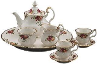Royal Albert 28839013 Old Country Roses Le Petite 9-Piece Miniature Tea Set