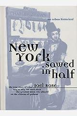 New York Sawed in Half: An Urban Historical (Urban Historicals) Hardcover