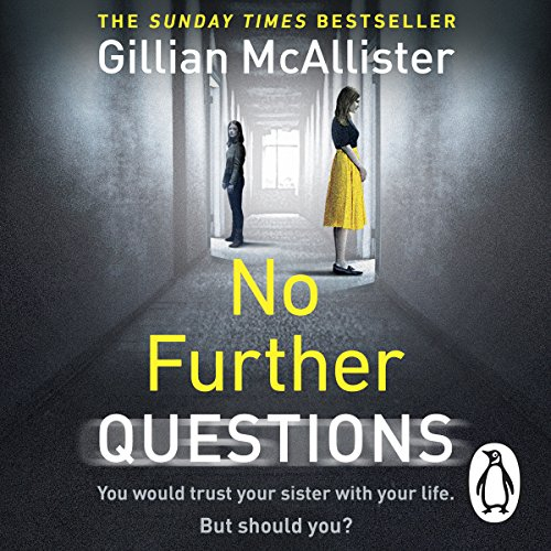 No Further Questions audiobook cover art