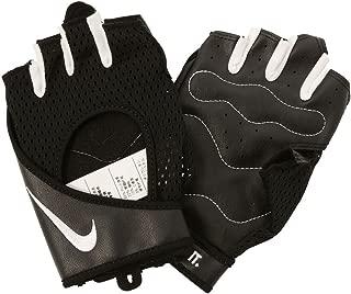 Women's Performance Wrap Training Gloves, Pair, Black/White