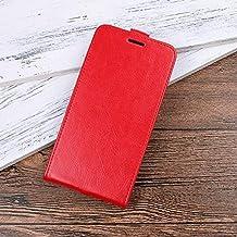 """Flip Cases - Luxury flip leather case for for Asus Zenfone 4 Selfie ZD553KL X00L X00LD 5.5"""" Case Retro Wallet Leather Cover cases (R6S RD for Asus ZD553KL)"""