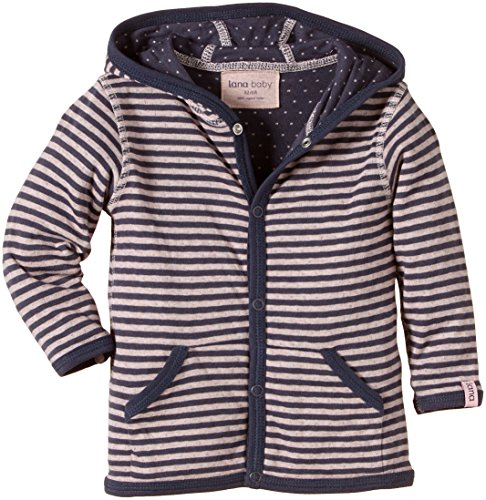 Lana Natural Wear Wendejacke Momo Blouson, Multicolore (Ombre Blue-Rose Water 2203), FR: 6 Mois (Taille Fabricant: 62/68) Bébé Fille