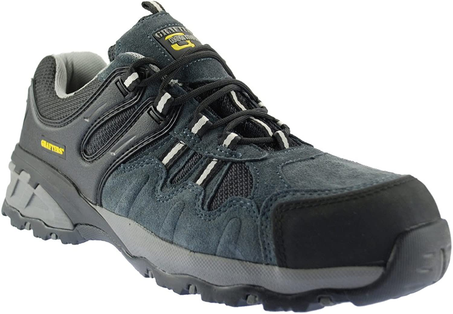 Grafters Mens Composite Safety Trainers Grey