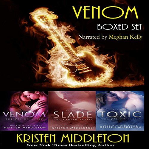 Venom Boxed Set (Vampires and Rock Stars) audiobook cover art