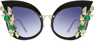 عینک آفتابی عینک آفتابی Cat Slocyclub طراحی شیک با الماس