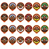 Chocolate Flavored Coffee - Flavored Coffee Pods Variety Pack - Single Serve Pods for the Keurig K...