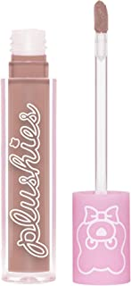 Lime Crime Plushies Soft Matte Lipstick, Chocolate Milk - Mocha Brown - Blackberry Candy Scent - Long Lasting, Nude Lips -...