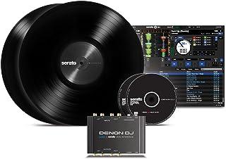 Denon DJ DS1   Pocket-Sized Digital Vinyl Audio Interface with full Serato DJ Pro & Serato DVS download (2-channel/24-bit/96kHz)