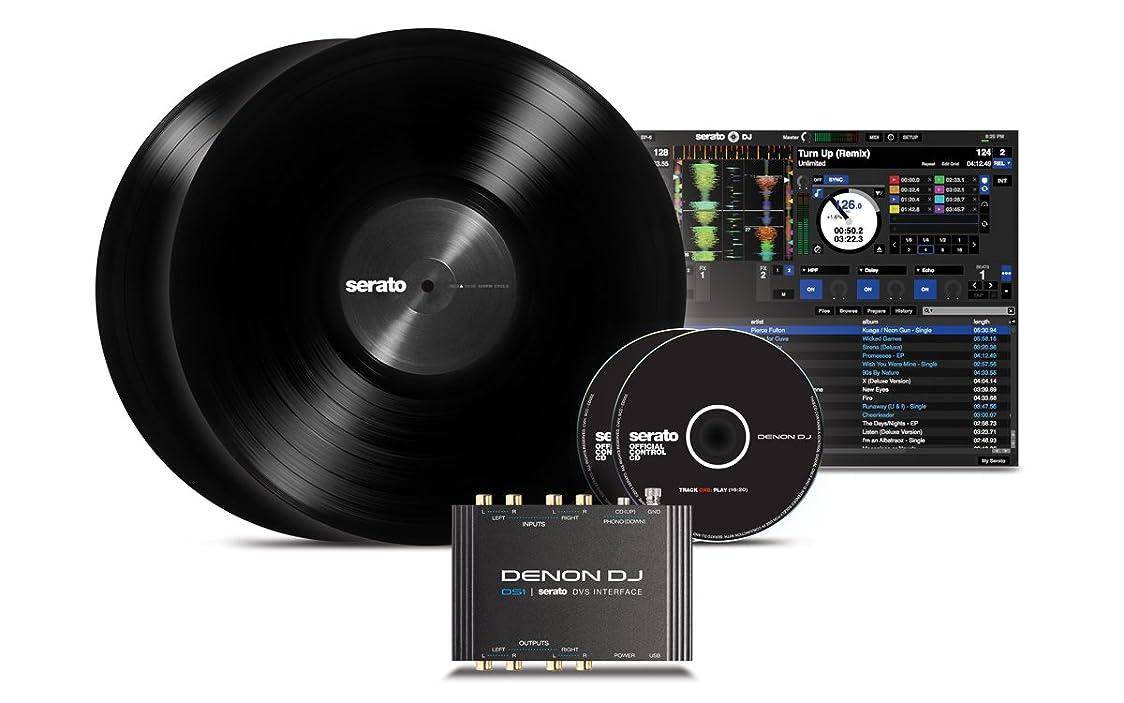 雹マスタードレザーDenon DJ Serato DJ専用デジタル?バイナル?システム(DVS)インターフェイス DS1