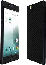 Skinomi Black Carbon Fiber Full Body Skin Compatible with Nextbit Robin (Full Coverage) TechSkin with Anti-Bubble Clear Film Screen Protector
