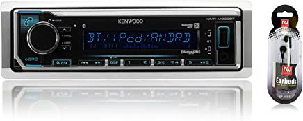 Kenwood Single DIN in-Dash SiriusXM Ready AM/FM, Built-in Bluetooth