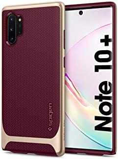 Spigen Funda Neo Hybrid Compatible con Samsung Galaxy Note 10 Plus (2019), Diseño de Doble Capa y Moderno - Borgoña