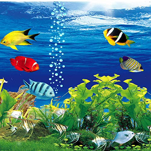 Guokaixyz Fotobehang 3D Stereoscopic Ocean Aquarium Sofa Tv achtergrond wanddecoratie woonkamer modern wandschilderij behang vlies 260x180cm