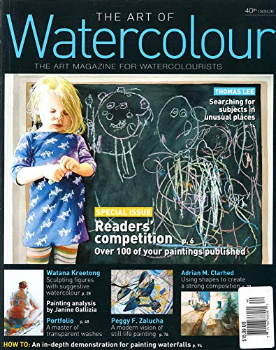 THE ART OF WATERCOLOR MAGAZINE - 40TH SISSUE 2021 - READER'S COMPETITION