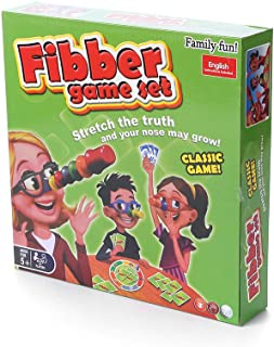 Kids Children Fibber Board Game Set - Family Fun Liar Game
