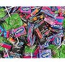 Halloween Variety Candy Assortment, SweeTarts, Tootsie Pops, Nerds, Gobstopper, 3 Pound Bag