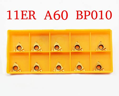 discount 10PCS 11ER A60 BP010/11IR A60 BP010 CNC Lathe sale Indexable Threading Carbide Turning Insert discount Blade (11ER A60 BP010) sale