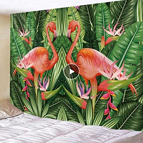 Danjiao Tapiz Colcha De Pared Colcha Toalla De Playa Mantel Decoración para El Hogar Hermoso Diseño Tropical Gran Tamaño De Pluse Sala De Estar Decor 150x130cm