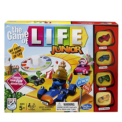 Product Image of the Hasbro Gaming The Game of Life Junior Game