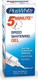 Plus White 5 Minute Premier Speed Whitening Gel 2 oz ( Pack of 6)
