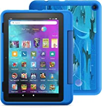 """Introducing Fire HD 8 Kids Pro tablet, 8"""" HD, ages 6–12, with 2-year warranty, thousands of apps, games, books and more in..."""