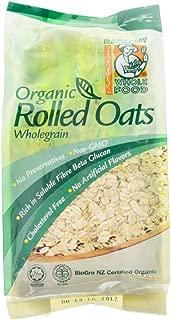 Radiant Organic Oats 500g (628MART) (Organic Rolled Oats, 12 Pack)