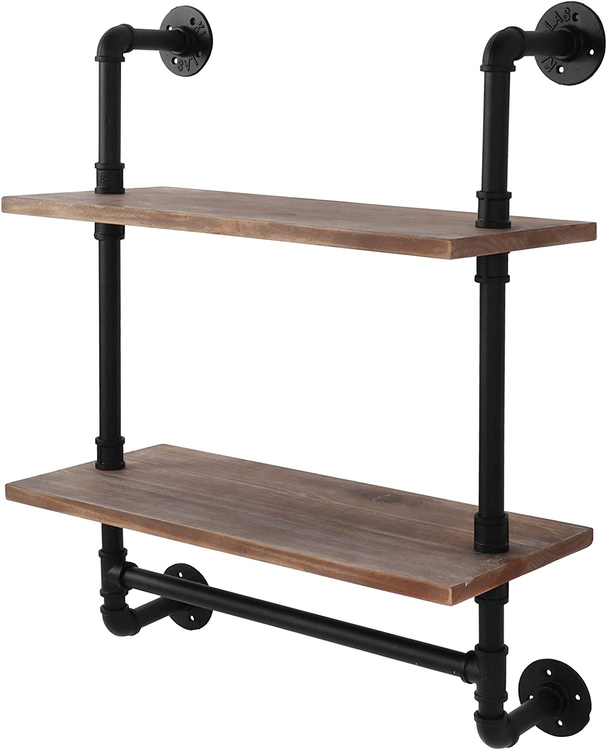 Bathroom Shelf Industrial Pipe Shelves Wall Portland Mall Limited Special Price 2-T Mounted
