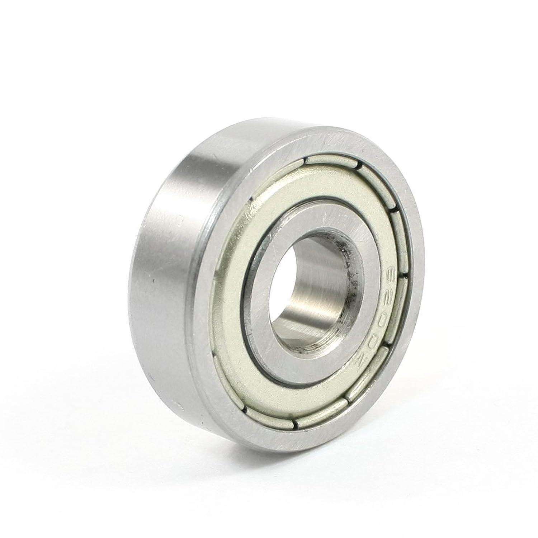 uxcell ボールベアリング 深溝玉軸受玉軸受 ボール軸受け メタル 9mm 10mm 30mm 32g 1個