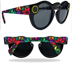 MightySkins Skin Compatible with Snapchat Snapchat Spectacles - Stained Glass Window | Protective, Durable, and Unique Vinyl wrap Cover | Easy to Apply, Remove, and Change Styles | Made in The USA