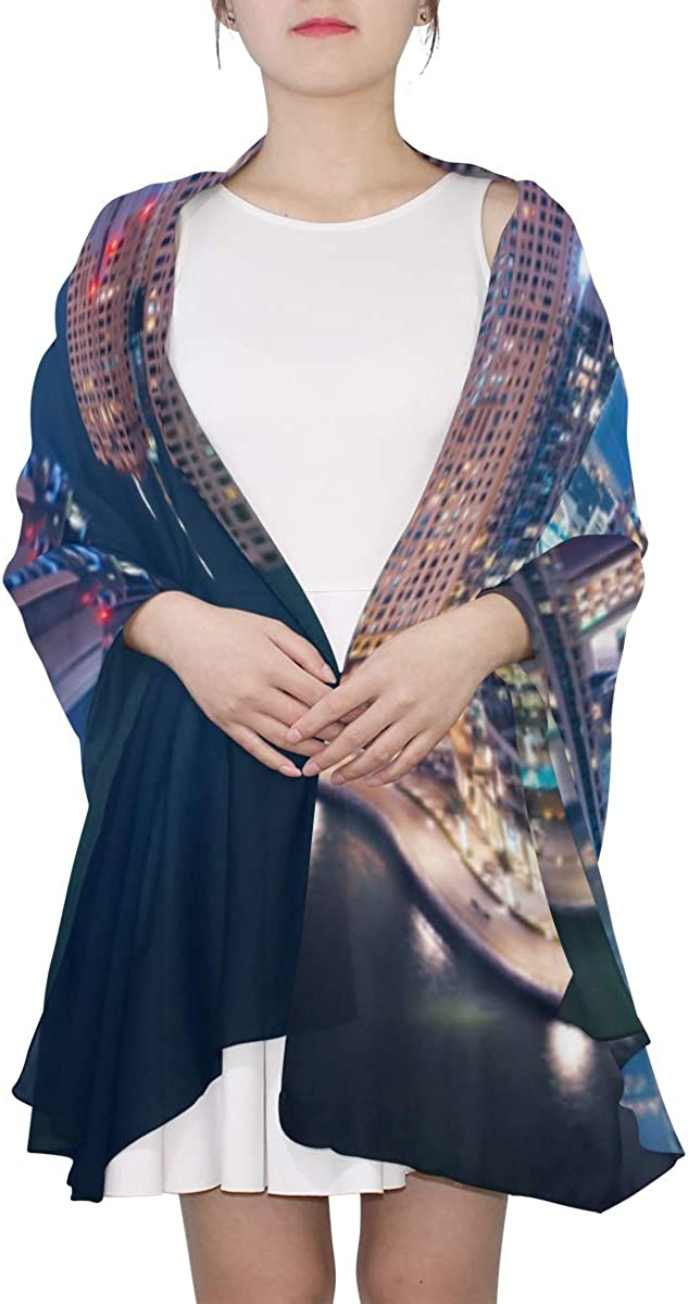 The Super Rich Country Dubai Unique Fashion Scarf For Women Lightweight Fashion Fall Winter Print Scarves Shawl Wraps Gifts For Early Spring