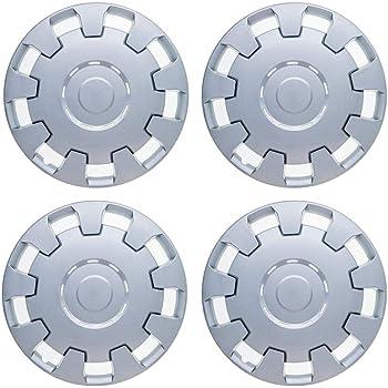 UKB4C 4x Silver//Black 16 Inch Deep Dish Van Wheel Trims Hub Caps For Citroen Dispatch